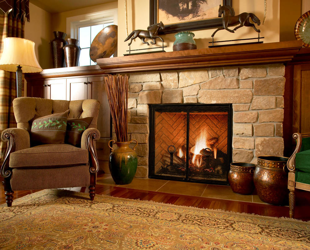 Mendota Fullview 41 Gas Fireplace