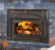Quadrafire Voyageur wood insert