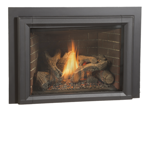 Jotul's latest gas fireplace insert boasts 40,000 BTU input, excellent performance, and all the bells and whistles (interior led lighting, blower and flame height - all remote controlled).  GI 635 DV IPI Newcastle