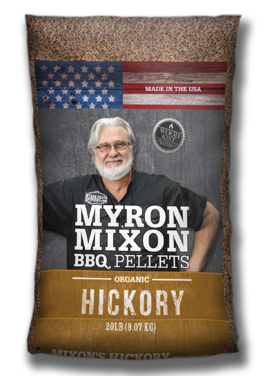 Just added6/3/2017... certified quality pure barbecue pellets worthy of Myron Mixon!