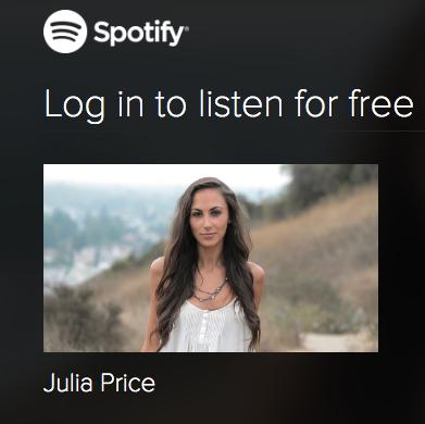 JuliaPriceSpotify