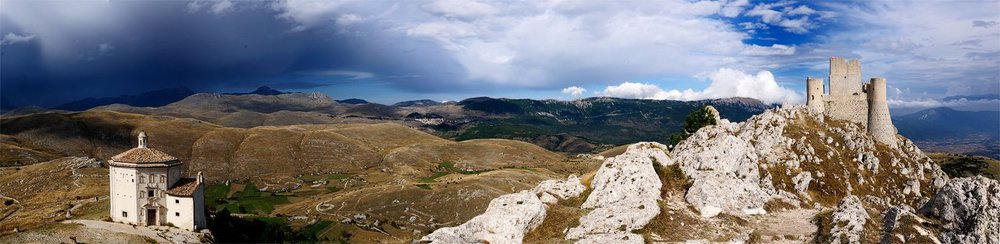 The Appenine Mountains of Abruzzo