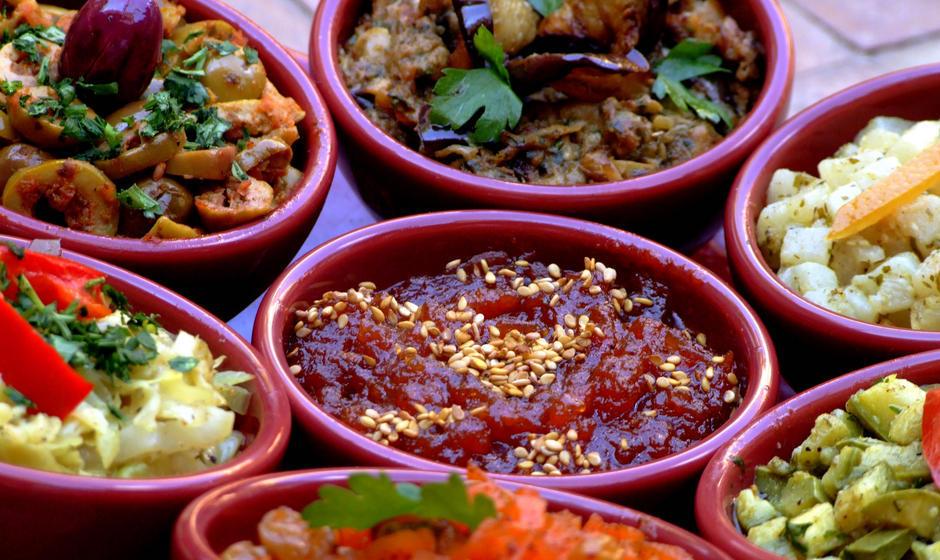 Moroccan Inspired Dishes (dishes are not from Spice Monkey)