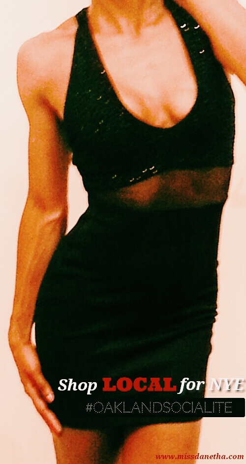 Black Dress. $40. Sway Boutique. 3359 Lakeshore Avenue, Oakland, CA.