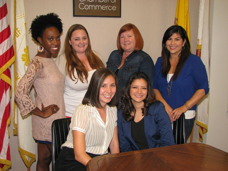 Oakland Chamber Young Professionals Committee (OCYP). From L-R, T-B: Danetha Doe, Ashley Saindon, Lori Lieneke, Ivette Torres, Laura Renner, Sofia Navarro.