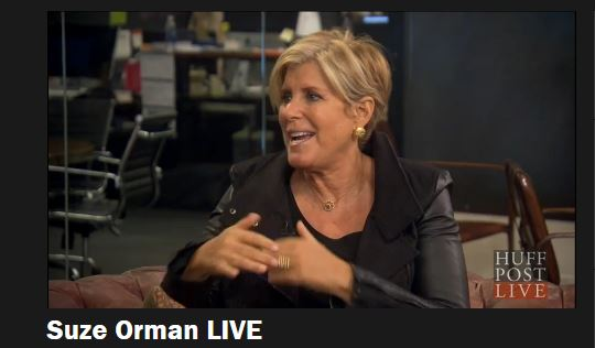 Suze Orman Huffington Post Live