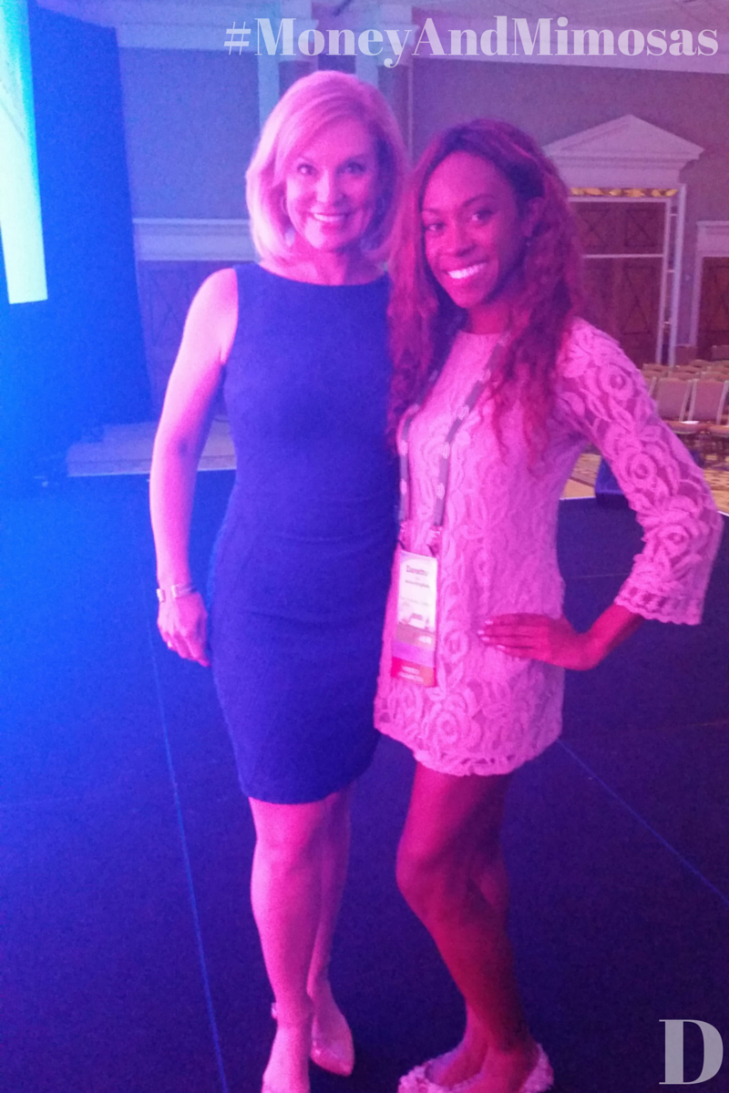 Me with Susan Solovic after her keynote at #Solutions14. We chatted about our Tieks and Shoedazzle shoes and how completely fabulous she looked in her dress. Yay!