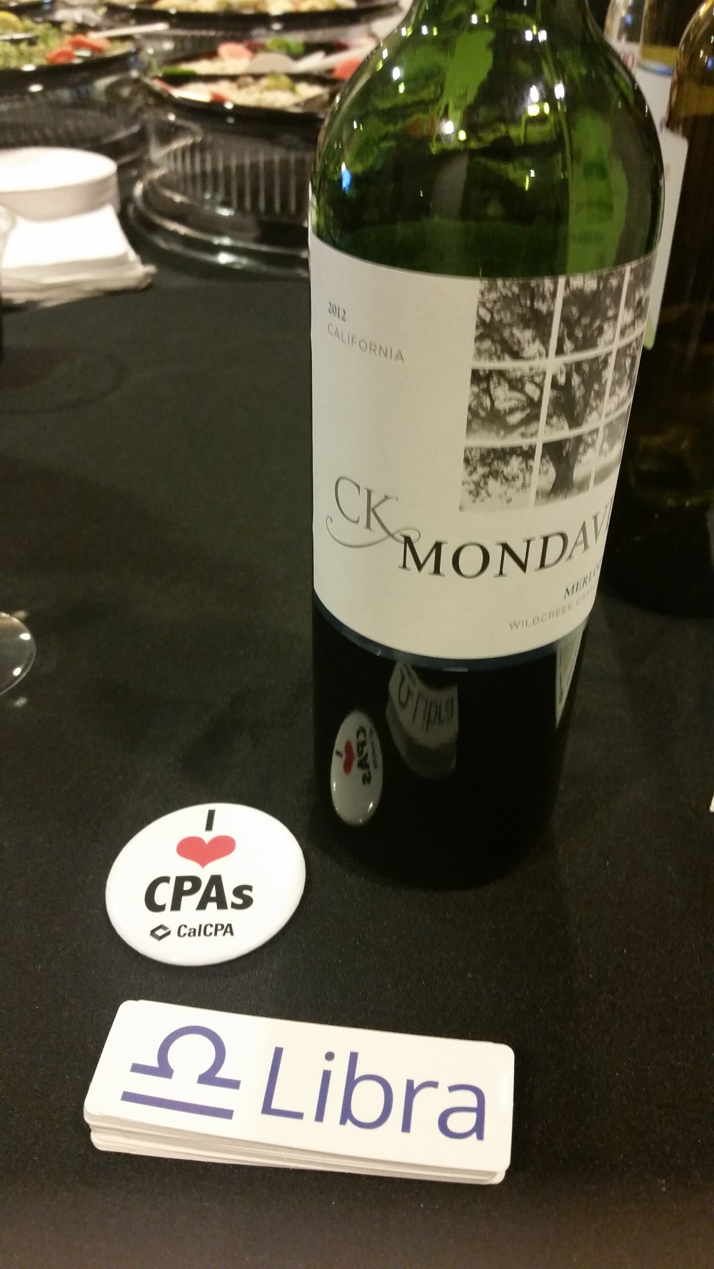 We do love CPAs, Libra and of course, wine!