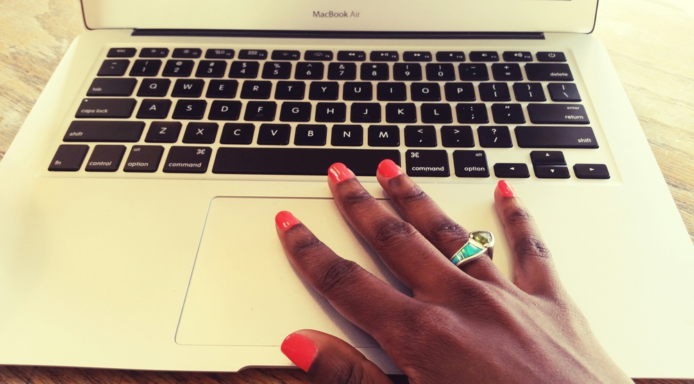Got my nails did. My intention is to finish the first quarter of 2015, bright and bold. What about you?
