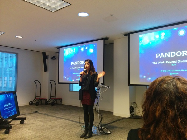 Beatriz Dominguez, event organizer and Talent Community Manager at Brightroll.