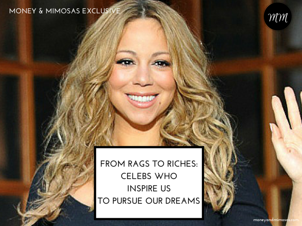 Check out #MoneyandMimosas post about celebrity entrepreneurs who came from humble beginnings.