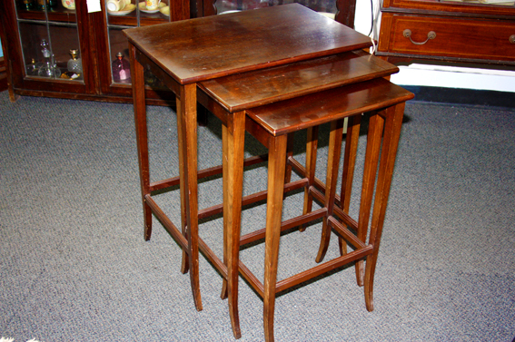 Edwardian Nest Of Tables