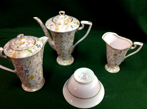 Royal Worcester Tea Service For Asprey