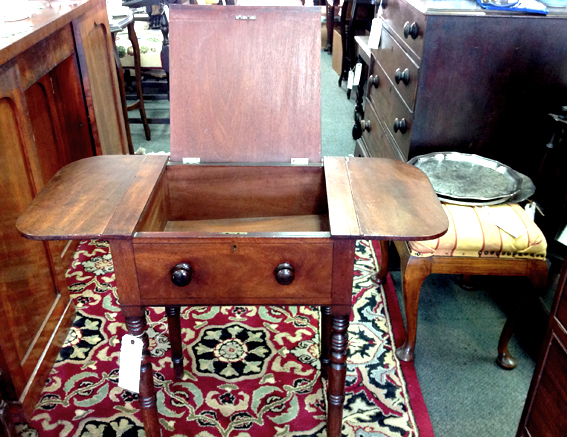 Victorian Mahogany Work Table