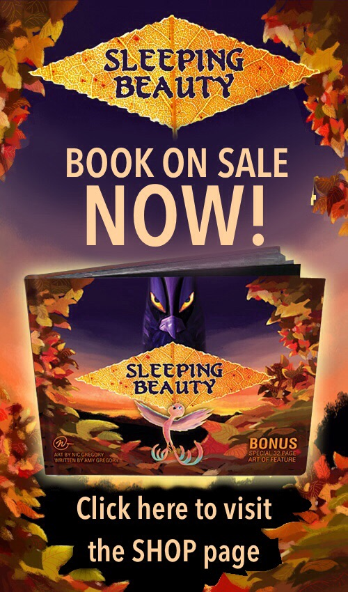Sleeping Beauty poster Nic Gregory