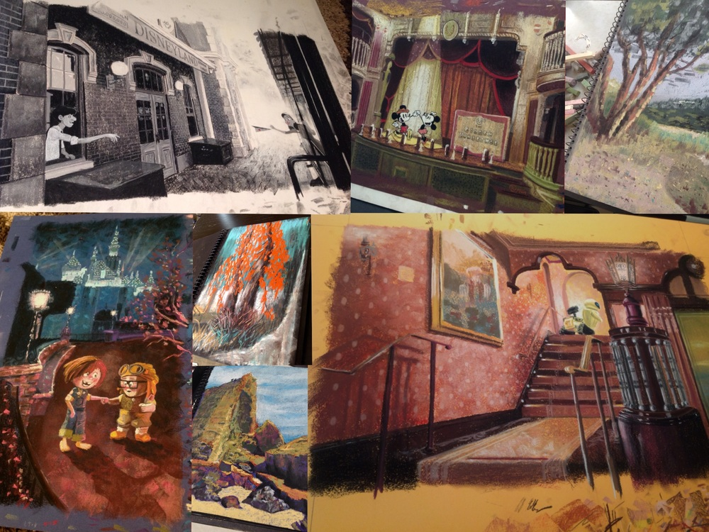 Just a few of the original pastel artworks that sold at this years CTN Expo