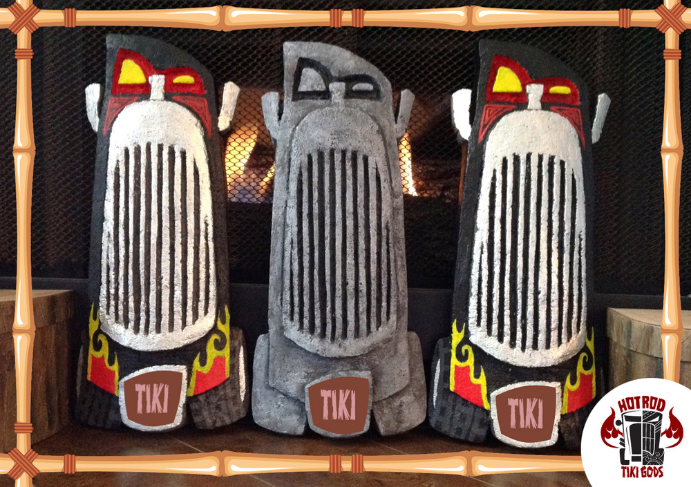 Nic Gregory Hot Rod Tiki Gods