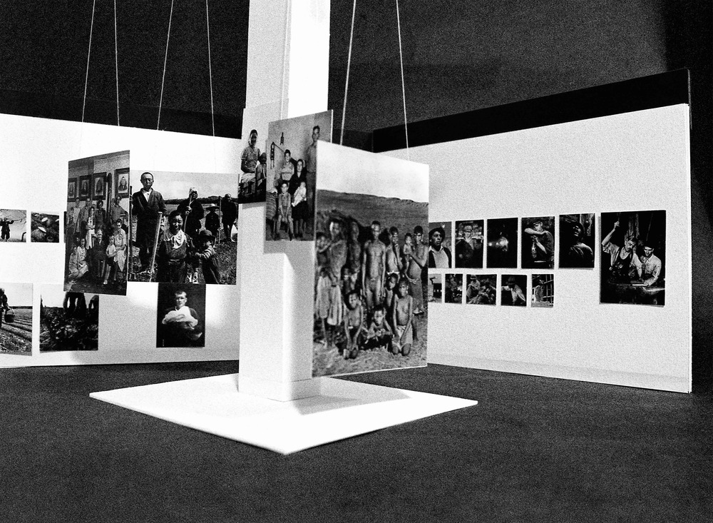 The Family Of Man Exhibition at the MoMA, 1955