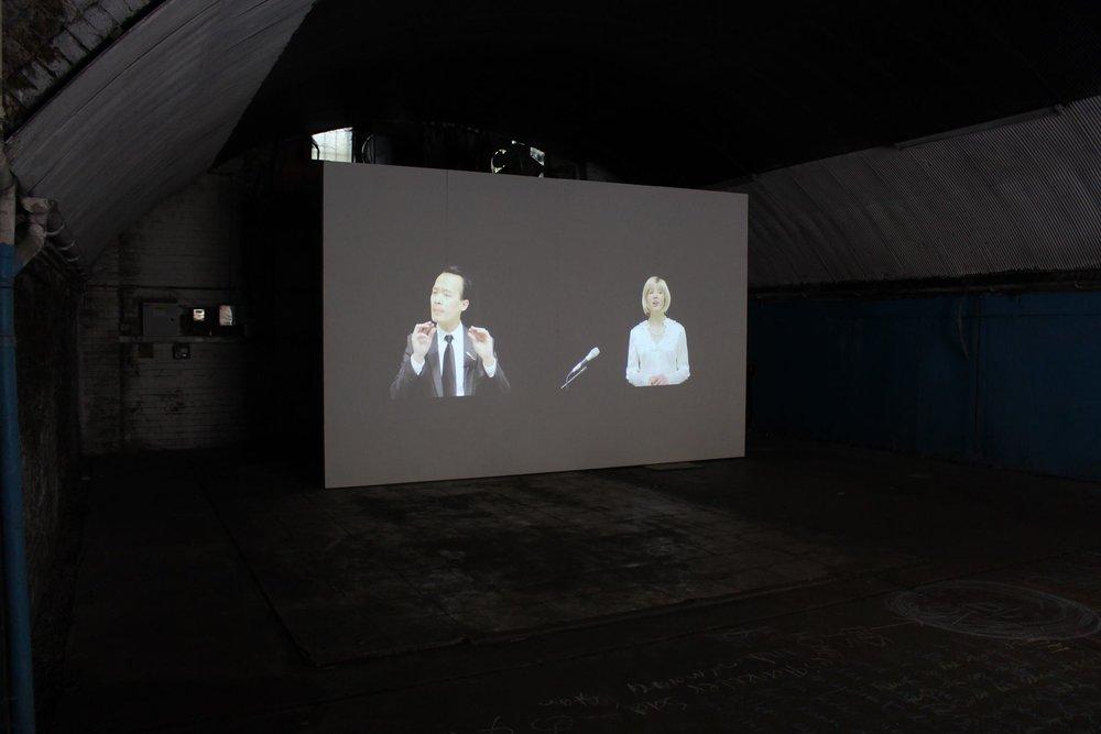 Bidding War at Sluice Art Fair (London UK, 2017)