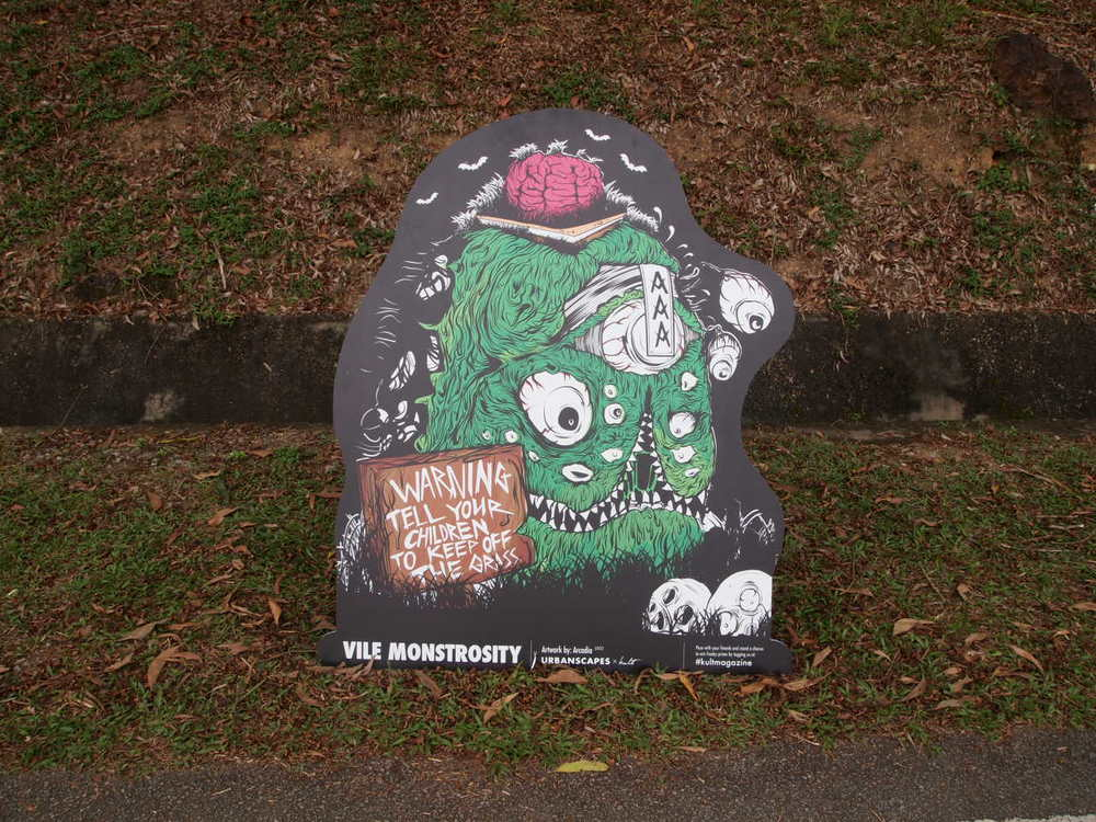 The winning entry for the Urbanscapes x Kult Design-a-monster competition by Arcadia