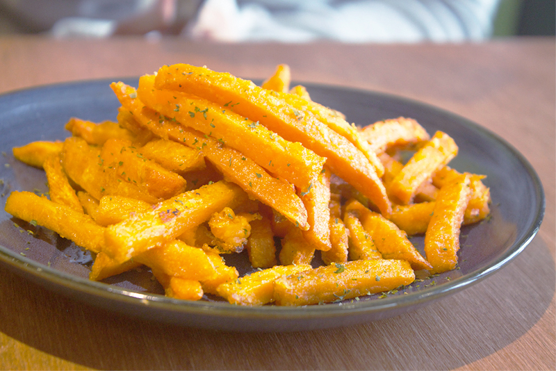 Sweet Potato Fries Photo Credits To  LoveTheKisses