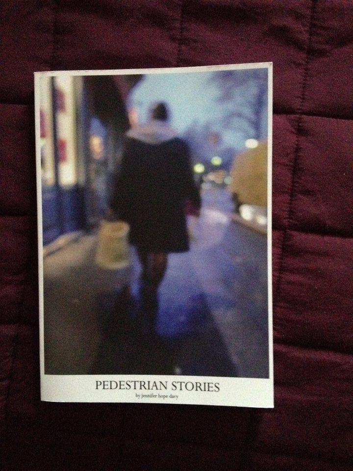 Pedestrian Stories by Jennifer Hope Day. Photo credits: Jeremy Fernando, 2014.
