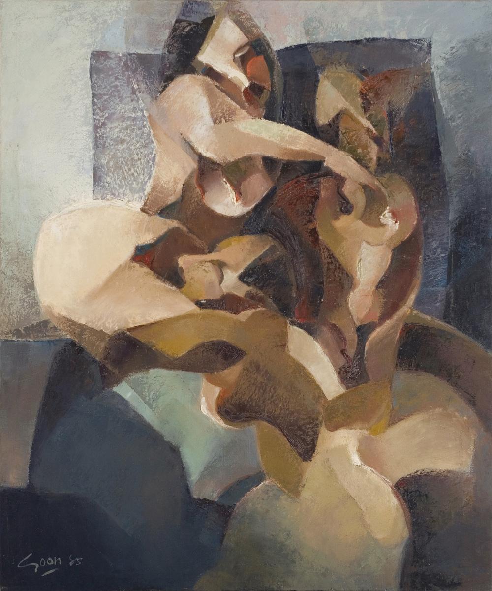 Trinity Nude (1985), Oil on Canvas