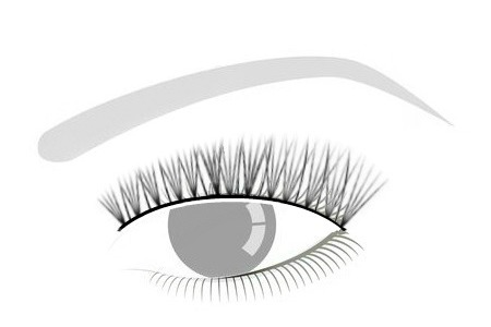 HYBRID - *SUBTLE FULLNESSAlternating between Classic Lashes & Volume Lashes, it gives you a fuller look without the drama.