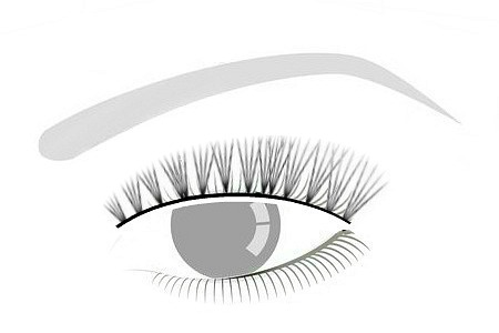 VOLUME - AKA: RUSSIAN *FLUFFY FULLNESS // Best retentionVolume lashes made of 3-5 single lashes. Usually 4D.