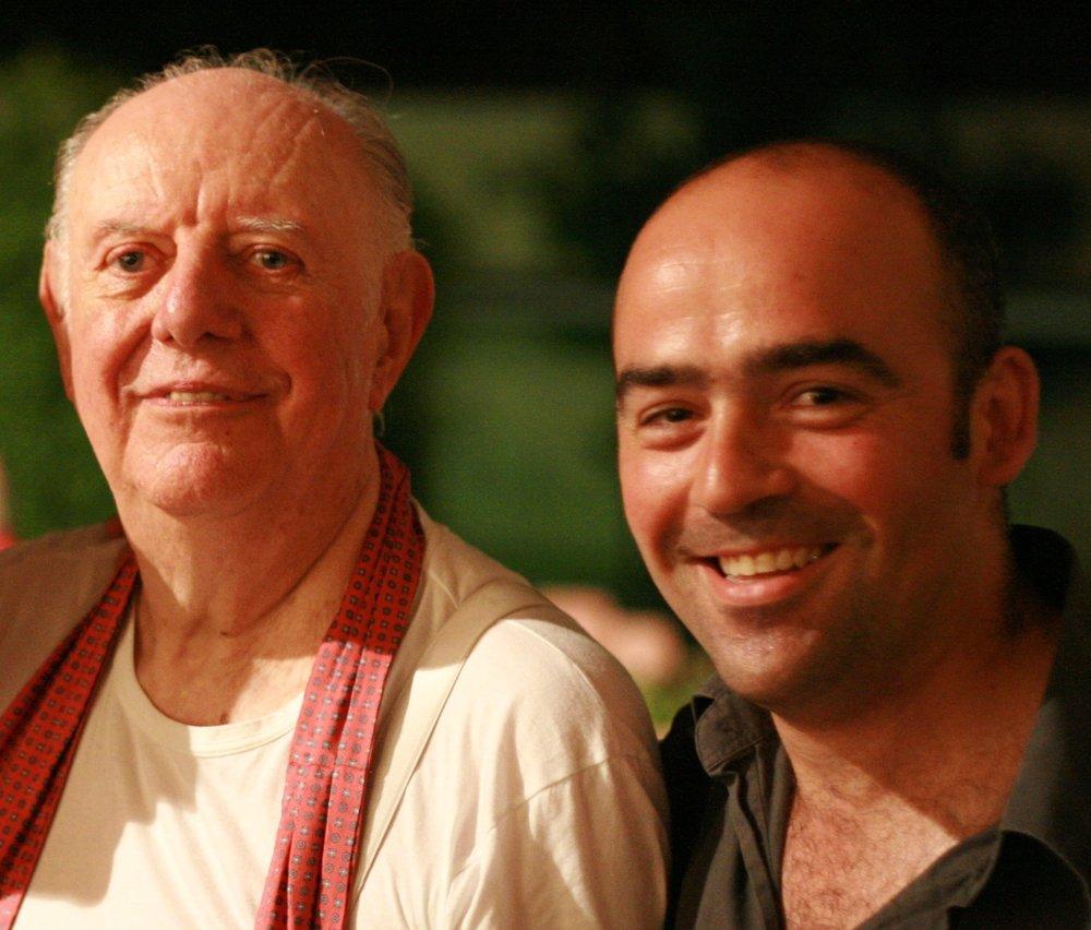with Dario Fo