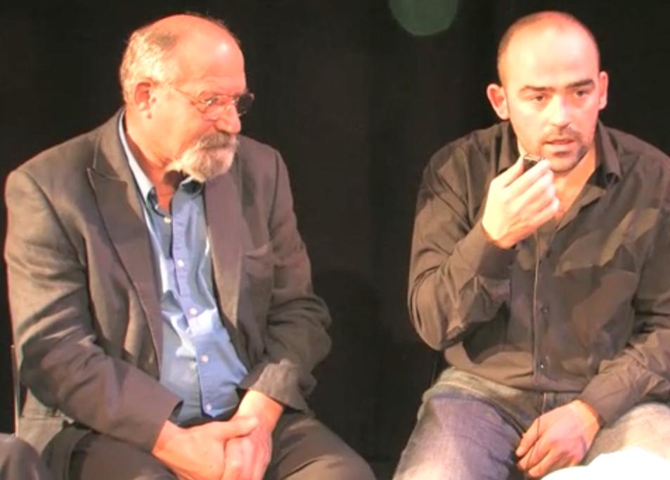 Donato Sartori and Carlos García Estévez, Amsterdam 2009