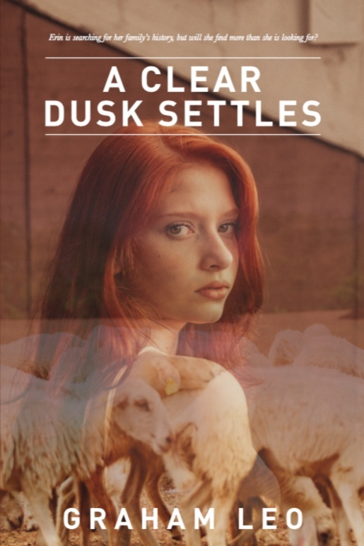 The cover art for  A Clear Dusk Settles