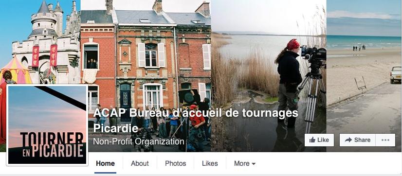 ACAP Bureau d'accueil de tournages Picardie - Film Picardy -FB post