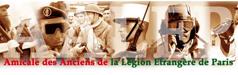 Amicale des anciens de la Légion Etrangère de Paris - Foreign Legion veterans' assoc -print newsletter
