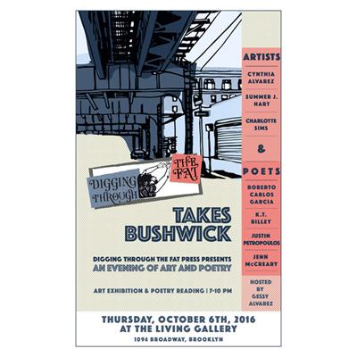 DTTF Takes Bushwick Poster, 2016