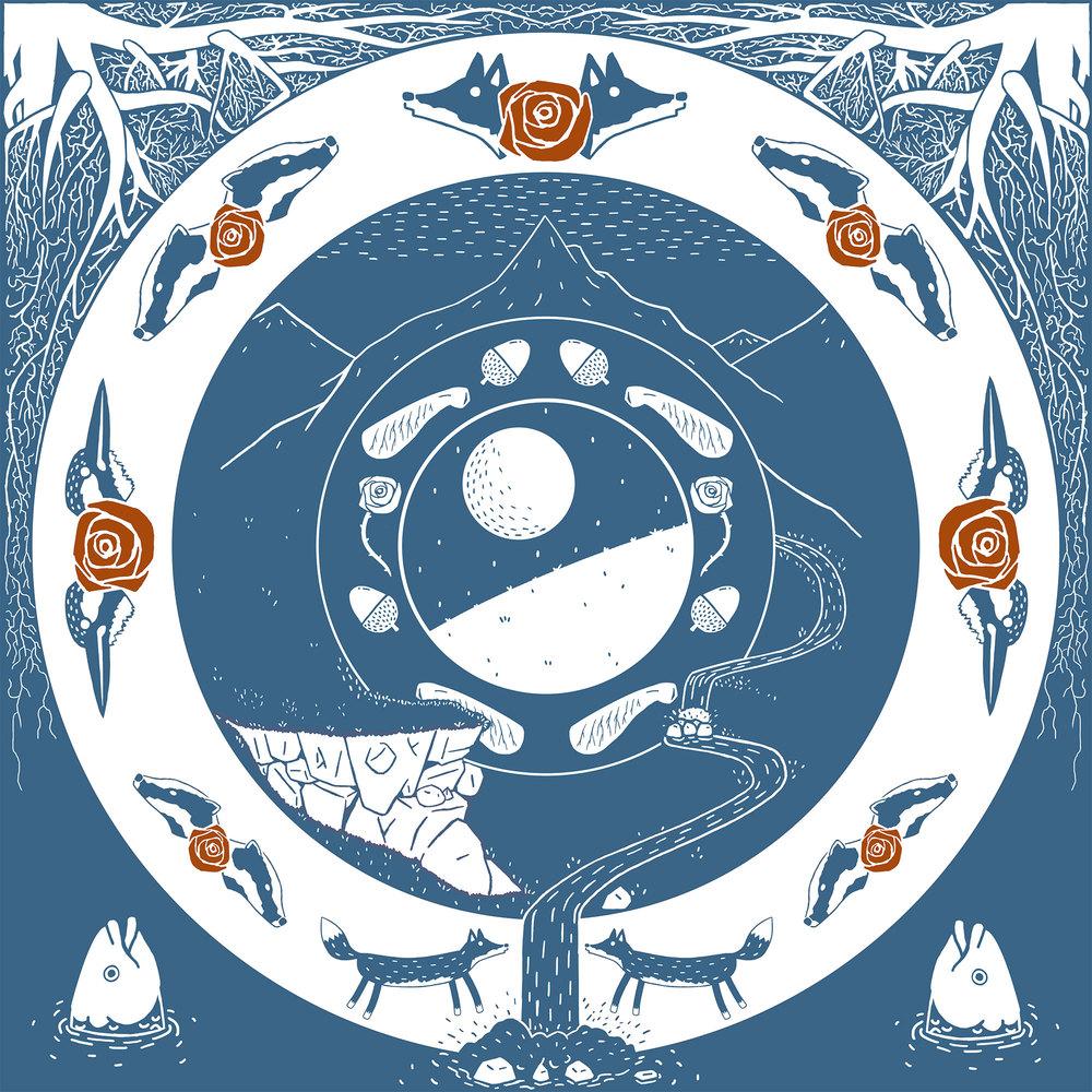 Nick Drake - Rider On The Wheel Cover Design
