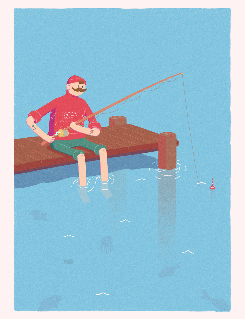 Fisherman Comic