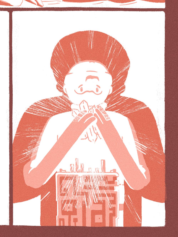 Fishrman Comic (Close up)