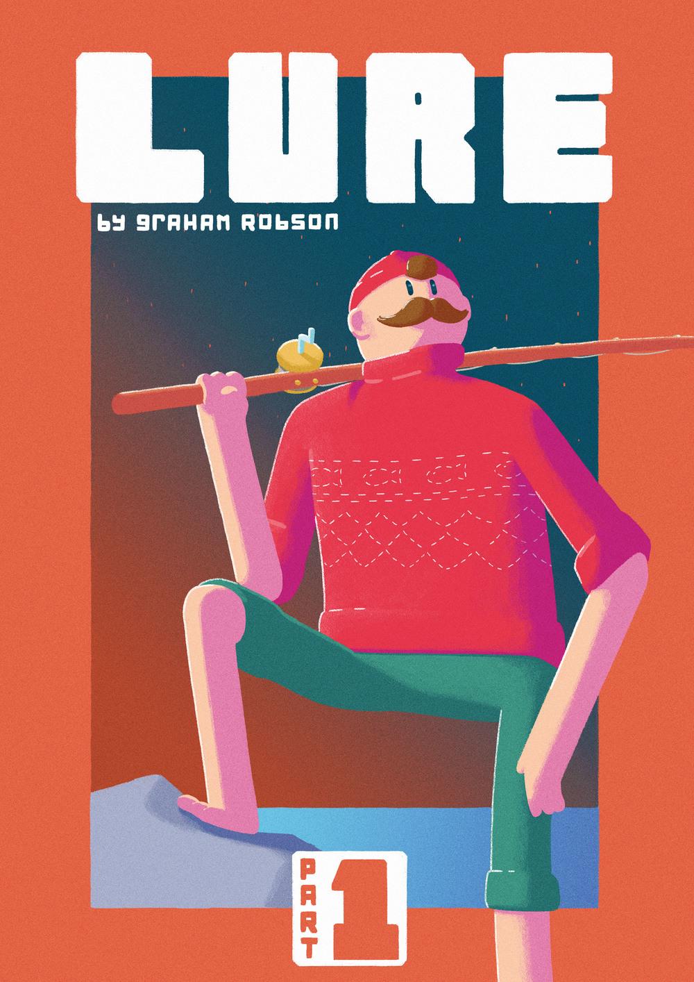 Lure - Comic Cover