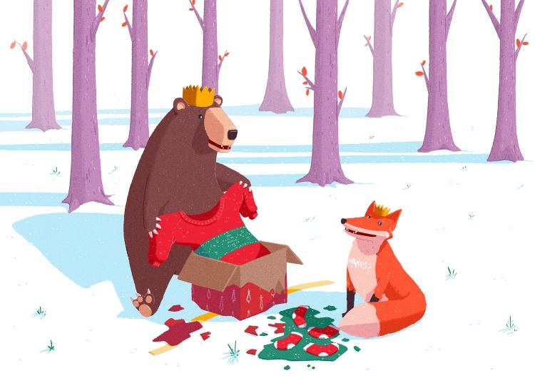 fox & the Bear