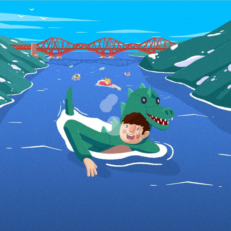 forth Bridge Swimming