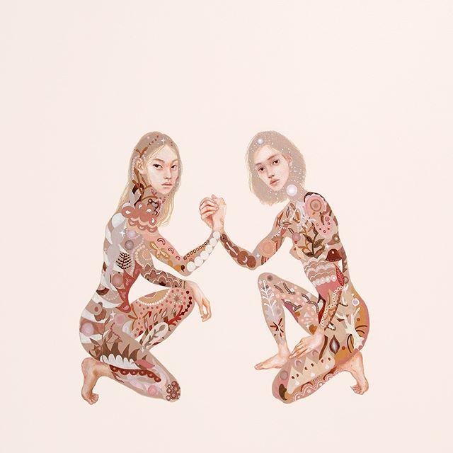 Autonomous software? —  #zizek #art #painting #figurepainting #squat #solidarity #fractals #inspo