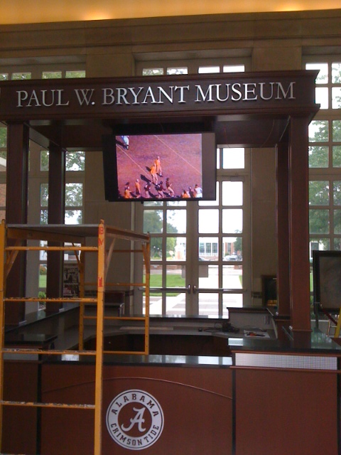 Visitor Services at the Paul W. Bryant Museum