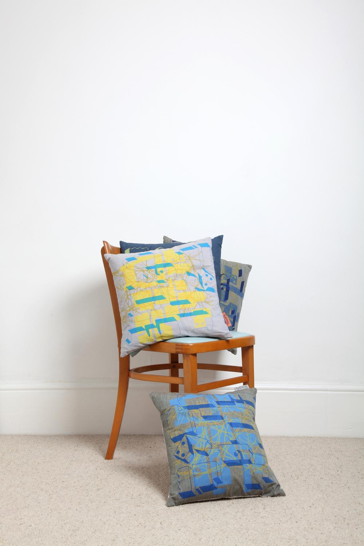 Citrus cushion available via Etsy