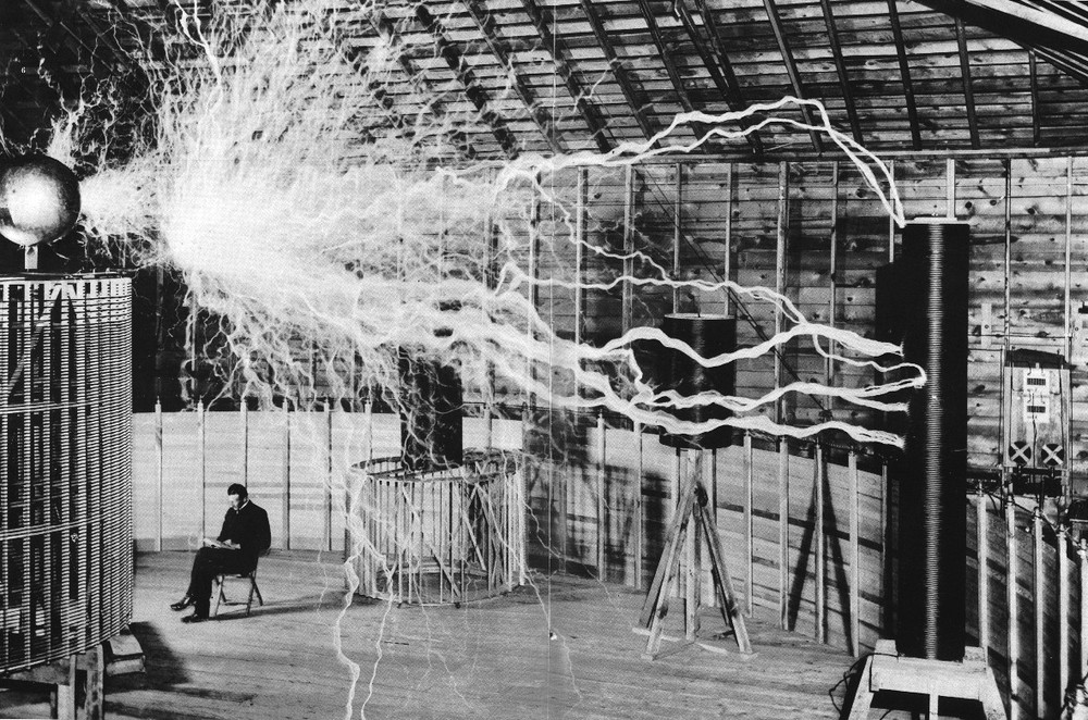 """Nikola Tesla was a Serbian-American inventor and futurist. Mainly known for being crazy enough to pursue his ideas that enabled us to have wireless lighting and electricity as we know it today. He was known as a mad scientists and continues to be an obscure figure in the fields of science and pop culture.   """"If you want to find the secrets of the universe, think in terms of energy, frequency, and vibration"""" -N.Tesla"""