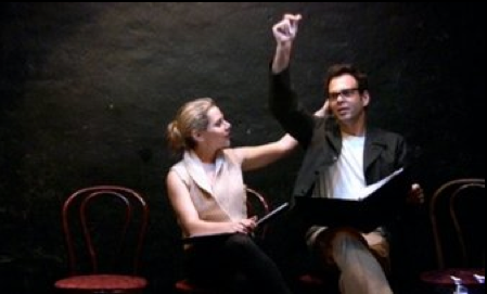 Howard Zinn's EMMA, directed by Victoria Linchong, with Meital Dohan as Emma Goldman and Ivan Martin as Reitman.