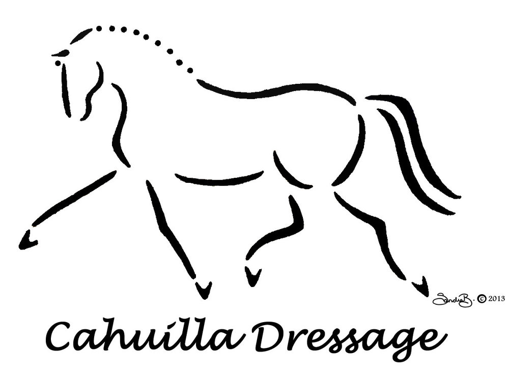 Logo for Cahuilla Dressage