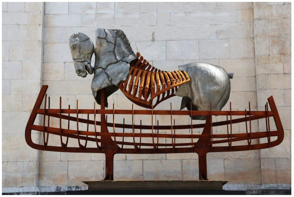 Click here to read Shya's blog post about equine sculpture Gustavo Aceves.
