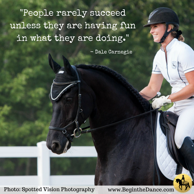 Learn dressage online from Sandra Beaulieu - a USDF Bronze and Silver medalist.  click here