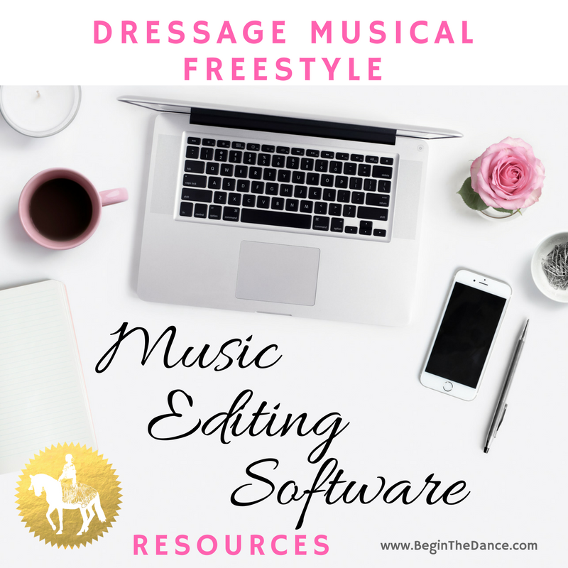 Find online resources to edit your dressage freestyle music. Click image.